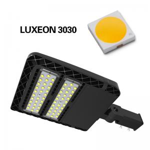 China Aluminium Housing LED Street Lighting , 160lm / W LED Shoebox Light For Garden on sale