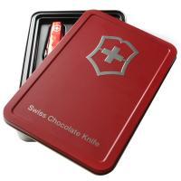 China caja suiza de la lata del cuchillo del chocolate que embala 20131209 on sale