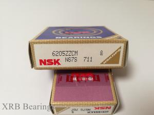 China NSK 6205ZZCM Deep Groove Bearing 25×52×15mm For Electrical Motor on sale