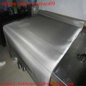 China SUS 304(8% nickel) dutch weave stainless steel  mesh/meal screen mesh/stainless steel woven mesh/hardware cloth on sale