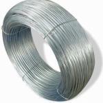 el alambre galvanizado del hierro del acero inoxidable, caliente sumergido/electrochapa galvanizado