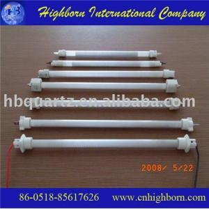 China Tubo del calentador del cuarzo del infrarrojo lejano on sale