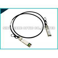 Copper Passive DAC Direct Attach Cable , Hybrid QSFP+ To SFP+ Cable Optical Fiber