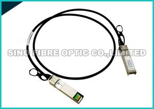 China Copper Passive DAC Direct Attach Cable , Hybrid QSFP+ To SFP+ Cable Optical Fiber on sale