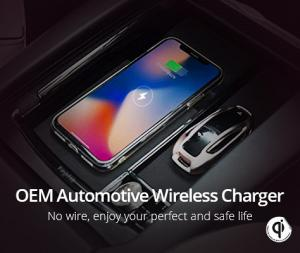 China Standard Automotive Wireless Charger BMW X1/X2/X3/X4/X5/X6/3 Series / 5 Series / 6 Series on sale