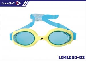 China Unique Children Silicone Swimming Goggles With Pcheadstrap Adjuster for Junior, Child, Kids on sale