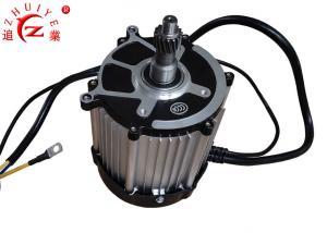 China Brushless DC Electric Vehicle Motor / PMSM Motor 1.5KW 60V With Wide Speed Range on sale