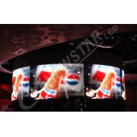 China P4 SMD2020 Video Flexible LED Display Indoor For Airports , Harbors on sale