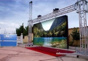 China 5500k Dual Color Advertising LED Display billboard 320 * 160mm 3500 Nits , Synchronization on sale