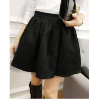 China autumn women's Lace high waist Pleated Short skirt princess female Pleated Mini skirt on sale