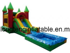 China Inflatable Slide with Pool/Inflatable Water Slide /Inflatable Water /Inflatable Toy (LT-SL-0020) on sale