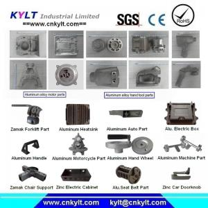 China Aluminum Zinc Alloy Die Casting Parts supplier