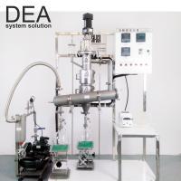 Vacuum Fractional Distillation Equipment / Small Distillation Unit