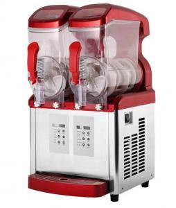 China Deluxe electric slush machine Luxury Cube Machine ice slush machine on sale