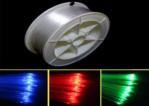 China PMMA Plastic Bare Optical Fiber Light Optical Fiber for Lighting Decoration on sale