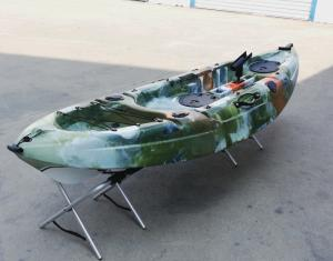 China 2.7m Adults Kayak Fishing Boats Premium Sit On Top Fishing Kayak  For One Single Person on sale