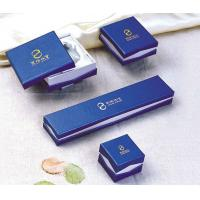 Hand Made Paper Pendants Jewellery Set Gifts Box Foil Stamping, Customized Logo