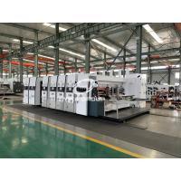 China High Speed Corrugated Box Printing Machine, Flexo Printer Computer Slotter Die Cutter Machine on sale