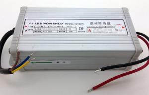 China Metal Standard LED Light Power Supply IP65 Waterproof DC 12 Volt on sale