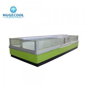 China Electric Supermarket Refrigeration Equipment , Island Display Freezer on sale