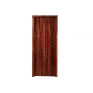 China Single / Swing Hotel Room Door 0.6mm Wood Veneer With Lacquer For School / Villa / Club on sale