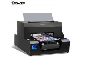 China Custom A3 UV Flatbed Printer / 240V Raised Printing Machine Easy Operation on sale