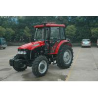 Forestry / Farm 95hp Four Wheel Tractor Red , Compact Utility Tractors