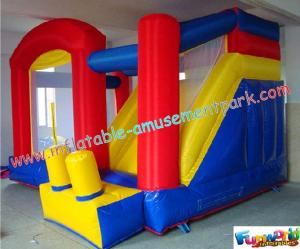 China Renting Biggest Inflatable Bounce Houses Games with Slide, Jumping House for Kids on sale