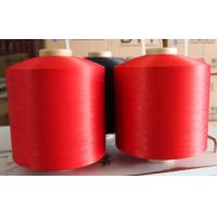 China Dope Dyed Polyester colored PBT High Elasticity dty Yarn polyester dty dyed flame retardent polyester dty on sale