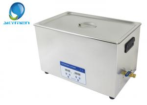 China Large Power SUS Medical Laboratory Ultrasonic Cleaning Equipment 30 Liters on sale