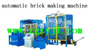 China automatic brick making machine plant on sale