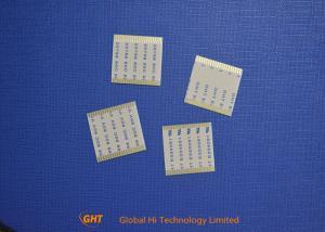 Quality Câble plat flexible de lancement de la borne 1.0mm du placage à l'or 20 le même for sale