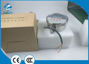 China Gas Water Digital Pressure Switch Gauge 0.6Kg 4 Digital LED Display Pressure on sale