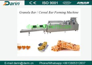 China Continously CE& ISO9001 Certified Cereal Bar Forming Machine with 24V Safety Voltage on sale