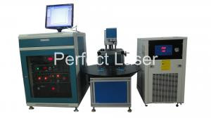 China Mobile Phone Case Serial Number Rotary Diode Laser Marking Machine 220V 50 - 60Hz on sale
