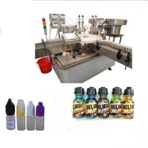 China Touch Screen Labeling Machine For Small Bottles , Electric Driven Bottle Labeling Equipment on sale