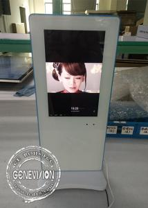 China HD High Resolution Table Standing Advertising Kiosks Displays 10.1 Inch With 3G/4G/5G on sale