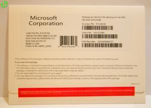 Quality Microsoft Windows Server 2016 Standard OEM Package / Windows Server 2012 R2 OEM for sale