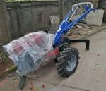Diesel Engine Driven Cable Pulling Tools Walking Tractor Winch For Cable Pulling With 2000 RMP Speed