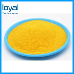 China Yellow PAC Water Treatment Chemicals Used in Wastewater Treatment on sale