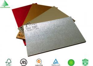 China Decorative interior aluminium sheet faced mdf wall board on sale