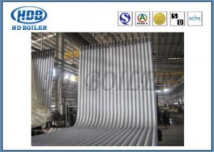 China Steel Boiler Water Wall Tubes For Recycling Water , Auto Submerged Welding on sale