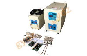 China Flat Copper Wire Brazing Electric Industrial  Induction Heater Heating Machine on sale