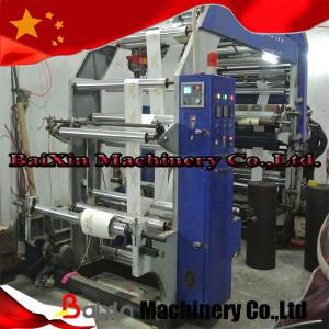 China Automatic High Speed Corrugated Carton 4 Color Flexographic Printing Press Machine on sale