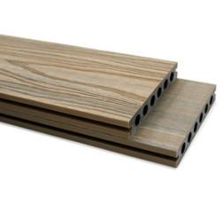 China Eco Forest Interlocking Deck Tiles Handscraped Style For Outdoor Bamboo Floor on sale