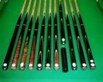 60 Inch 23oz 3 4 Pc Handmade Rosewood Snooker Cue With