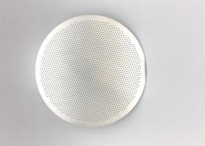China High Precision Fine Metal Filter Mesh Disc For Coffee Brewing Circle Shape on sale