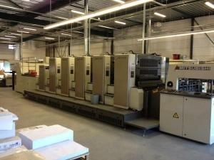 China MITSUBISHI D3000-5 L (2008) Sheet fed offset printing press machine on sale
