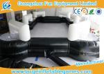 Eco-friendly 0.5mm PVC Tarpaulin Inflatable Billiard Arena With Logo Printing