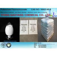 China Potassium Fluorozirconate Acidic Inorganic Salts CAS 16923-95-8 K2ZrF6 Aluminum Master Alloys on sale